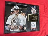 Yankees Derek Jeter 2 Card Collector Plaque w/ 8x10 Photo 2009 World Champions