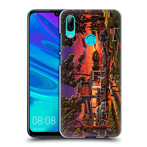 Official Geno Peoples Art Small Town Bass Tournament Halloween Hard Back Case Compatible for Huawei P Smart (2019)