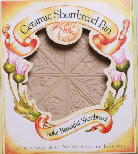 Thistle Ceramic (Brown Bag Design British Isle Shortbread Cookie Pan, 11-1/4-Inch by 9-1/4-Inch)
