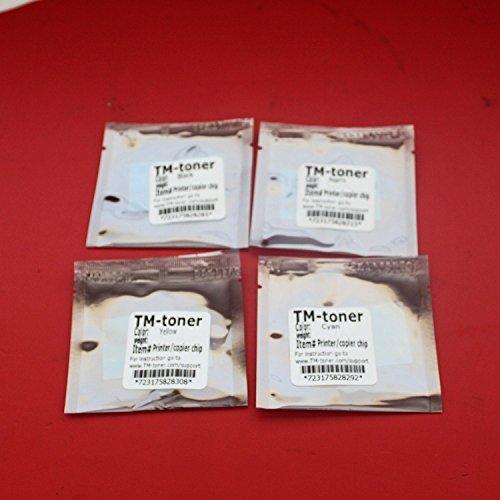 TM-toner © 4 pc Toner Reset chips for Konica Minolta MagiColor 1600W 1650EN 1680MF 1690MF Printer