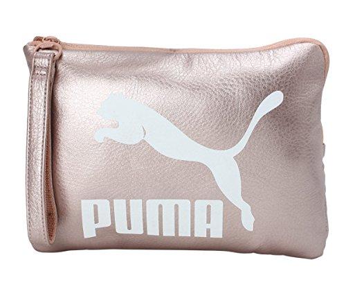 PRIME 075 01 embrague 165 Puma de Rosa manguito con Pounch METÁLICO mujer 8Cqwg7