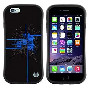 """Hypernova Slim Fit Dual Barniz Protector Caso Case Funda Para Apple iPhone 6 / 6S (4.7 INCH) [Justicia a cualquier precio""""]"""