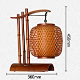Bamboo Art Led Lamp Table Lamp Study Living Room Bedroom Bedside Bamboo Lamp Personalized Creative Lamps (2645Cm)