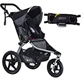 Best off road jogging stroller - BOB Revolution FLEX Stroller - Black/Black with Handlebar Review