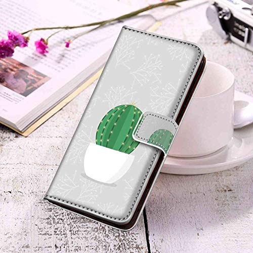 Wallet Case Fit Samsung Galaxy S10e (5.8 Inch) Prickly Pear Nice