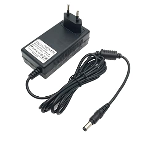 EMEXIN 30V 500mA Adaptador de cargador de repuesto para aspiradora inalámbrica Athlet Bosch BCH6256N1 BBH625W60 BBH6P25 BBH6P25K BBH6PZOO BCH625LTD ...
