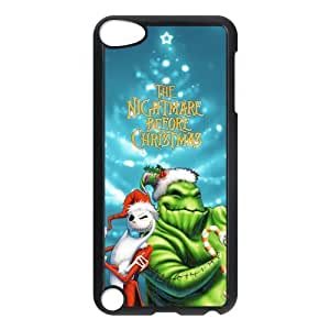 DIY Design The Nightmare Before Christmas Printed-Protective Plastic Cover Case for iPod Touch 5/5th Generation (Hard Plastic)Perfect for Christmas gift