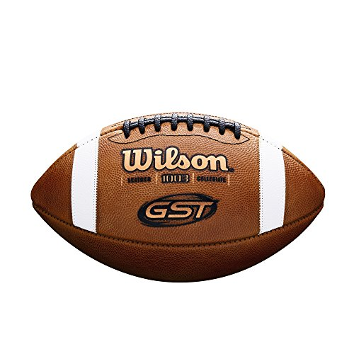 Wilson GST NCAA Leather Game Football from Wilson