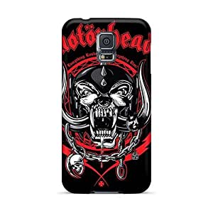 Shock-Absorbing Hard Phone Covers For Samsung Galaxy S5 With Customized Attractive Rise Against Skin MansourMurray