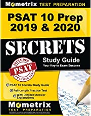 Psat 10 Prep 2019 and 2020 - Psat 10 Secrets Study Guide, Full-Length Practice Test With Detailed Answer Explanations: [Includes Step-by-Step Review Video Tutorials]