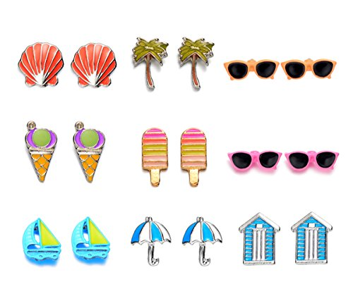 Onnea Summer Vacation Earrings Hypoallergenic product image