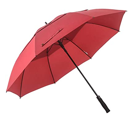 4ac1f2ad0811 Amazon.com: AZZ Oversized Double Folding Sun Umbrella,Automatic ...