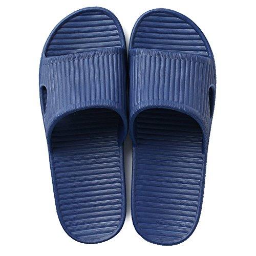 de hembra lindo de Zapatillas Azul verano baño hogar verano pareja casa casa Zapatillas Zapatillas espesor DogHaccd resbaladizo con oscuro 1 enfriar zapatillas xqA8BSS