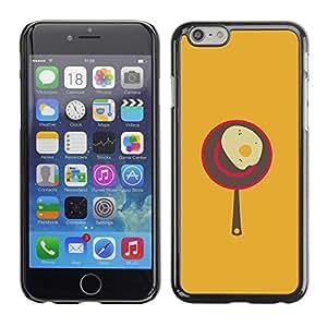 PC/Aluminum Funda Carcasa protectora para Apple Iphone 6 Plus 5.5 Egg Cooking Food Kitchen Art Poster Vintage / JUSTGO PHONE PROTECTOR