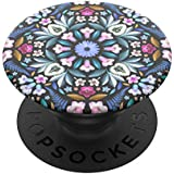 PopSockets: PopGrip with Swappable Top for Phones and Tablets - Kaleido Bloom