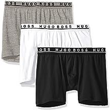 BOSS HUGO BOSS Men's Boxer Brief 3p Co/El 10146061 01