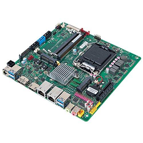 Mitac PH12SI-I Thin Mini-ITX Skylake/Kabylake Motherboard w/Dual GbE LAN, eDP, - Dual Gbe Motherboard