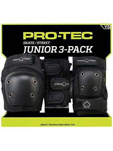 Pro-Tec Street 3-Pack Elbow, Knee, and Wrist Pad Combo for sale  Delivered anywhere in USA