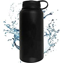 1L 32oz Stainless Steel Sports Water Bottles Insulation Cup Water Thermos for Travelling Mug Fishing Car Driving Home Use