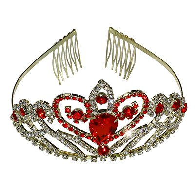 Women Luxurious Crystal Rhinestone Bridal Crown Princess Headpieces Girls Tiara Accessory with Comb …