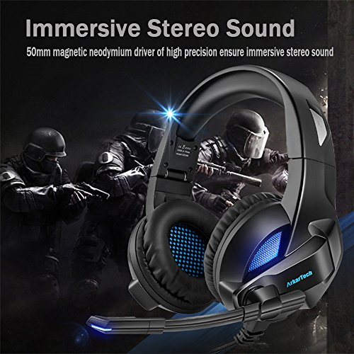 Folding Gaming Headset For Xbox One PS4 c868d08985