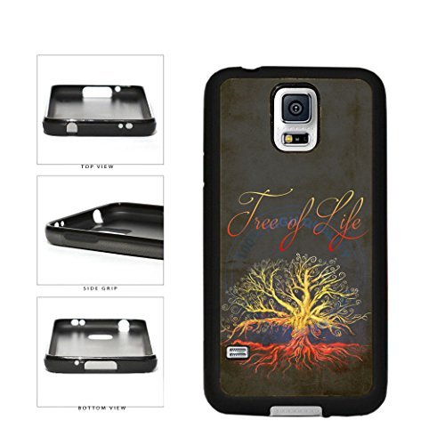 BleuReign(TM) Colorful Tree of Life TPU RUBBER SILICONE Phone Case Back Cover For Samsung Galaxy S5