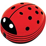 Gourmet by Starfrit 80603 Mini Table Vacuum Cleaner, Lady Bug