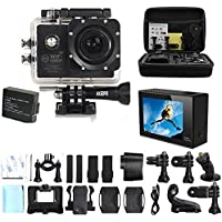AKEDRE  Action Camera SJ7000 Action Dv Waterproof Wifi Sports Camera 1080p , Car Recorder Action Camera 2.0 Inch LCD 170 Degrees Wide Angle Lens Outdoor Camera Camcorder with an Extra Battery