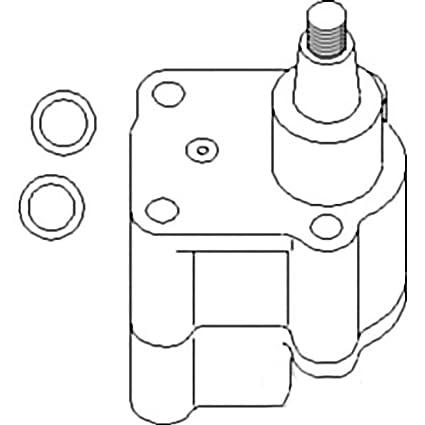 Amazon Com Re515746 New Engine Oil Pump For John Deere Tractor 240
