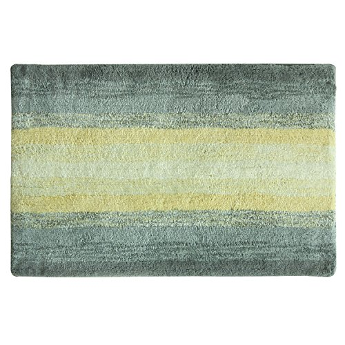 Shade Brentwood Collection - Bacova Guild Portico Yellow Bath Rug, 20