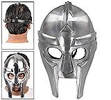 NAUTICALMART Gladiator Style Supervillain Armor Rapper Mask