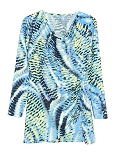 La Cera Women's Printed Top