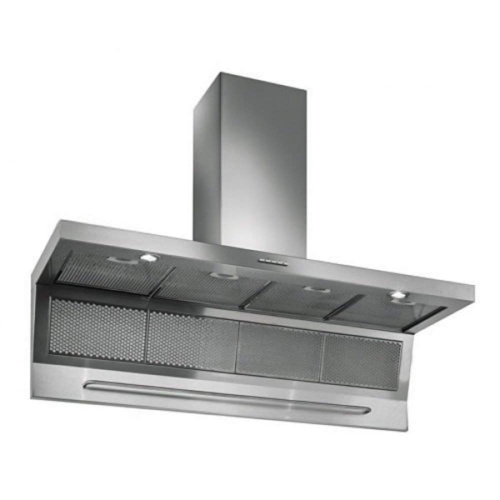Futuro Futuro Magnus 48 Inch Wall-mount Range Hood, Professional-Style Design w/Extra Filters, LED, Ultra-Quiet, with Blower