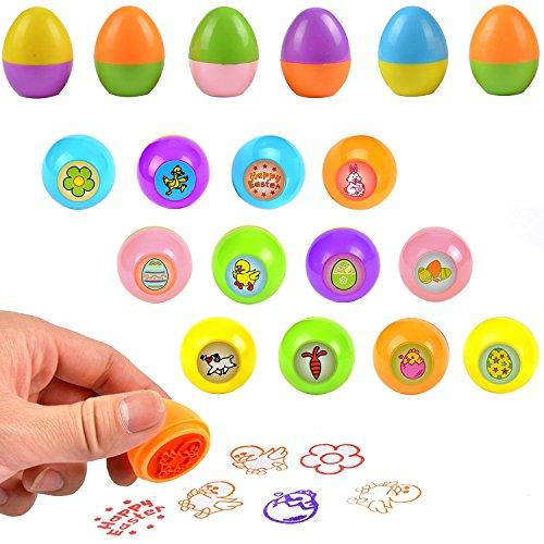 Easter Stamper - Egg-Themed Easter Stampers, Set of 12