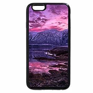 iPhone 6S Plus Case, iPhone 6 Plus Case, purple landscape view