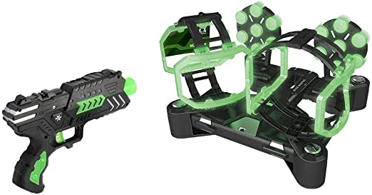 Hover Shot Game Toy Glow In Dark Disparo Eléctrico Juego De ...