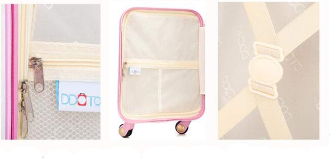 Cartoon Travel Trolley case 18//19//20 Size : 19, Style : R Universal Wheel Luggage Multi-Color Trolley case Runtongshanghang Trolley case