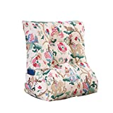 MS Pillow Bed Triangle Cushion Sofa Back Washable PP Cotton Pillow Bedside Backrest Lumbar Pillow Protection Waist Neck Guard Multiple