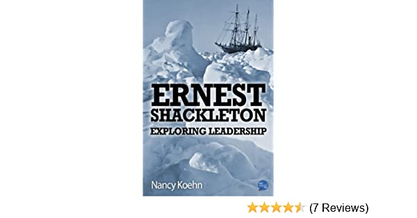shackleton leadership style