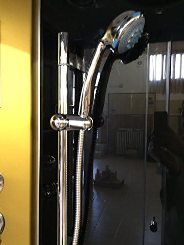 DUCHA CABINA DE HIDROMASAJE Modelo Taormina 100 x 70 cm SPA RADIO ...