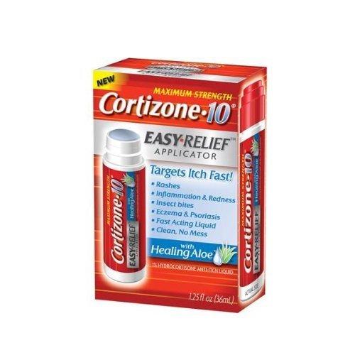Cortizone 10 Cortizone 10 Hydrocortisone Anti-Itch Liquid Easy Relief Applicator-1.25, oz. price tips cheap
