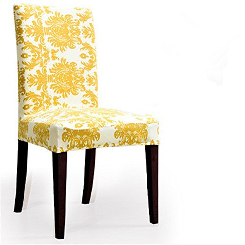 35 Colors Super Fit Stretch Removable Washable Short Dining Chair Cover Protector Seat Slipcover for Hotel,Dining Room,Ceremony (Chair Pottery Barn)