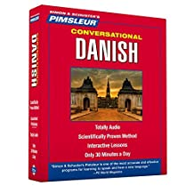 Pimsleur Danish Conversational Course - Level 1 Lessons 1-16 CD: Learn to Speak and Understand Danish with Pimsleur Language Programs