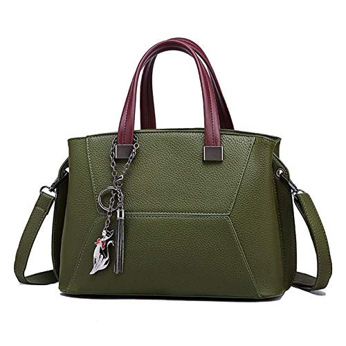 Material Bolso Green Vintage De Hombro Mujer Pu Un Jixdf Bandolera Tendencia pqCSx8Sw