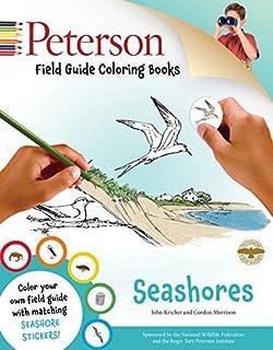 Peterson Field Guide Coloring Books Seashores Color In