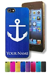 Apple Iphone 5/5S Case/Cover - BOAT ANCHOR - Personalized for FREE (Click the CONTACT SELLER button after purchase and send a message with your case color and engraving request)