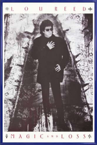 Lou Reed Poster and Frame Plastic - Magic And Loss