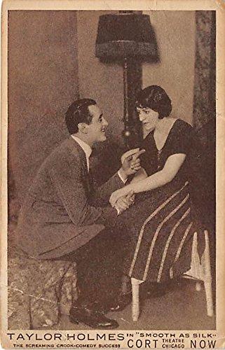 Taylor Holmes, Fluent as Silk Theater Actor / Actress Postcard