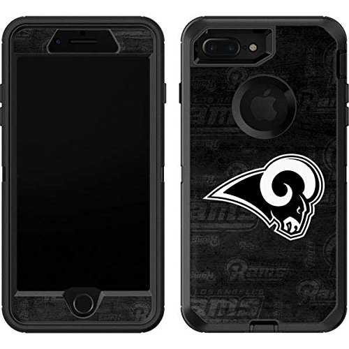 pretty nice 74183 389a6 Skinit Los Angeles Rams Black & White OtterBox Defender iPhone 7 Plus Skin  for CASE - Officially Licensed NFL Skin for Popular Cases Decal - Ultra ...