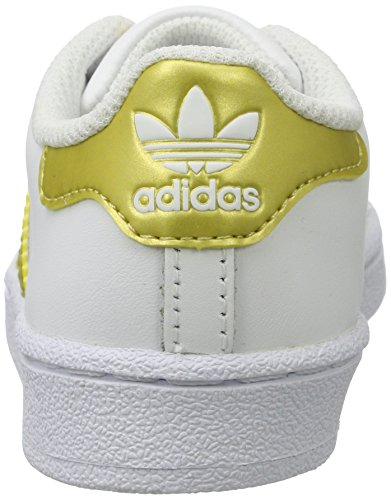 Basses Superstar Baskets Gold adidas Ftwr Metallic Mixte Enfant Metallic Blanc White Gold qFTOwp